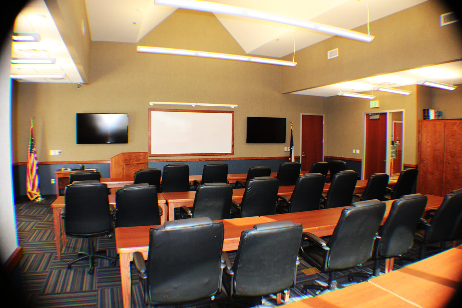 Texas Fire Academy Training classroom