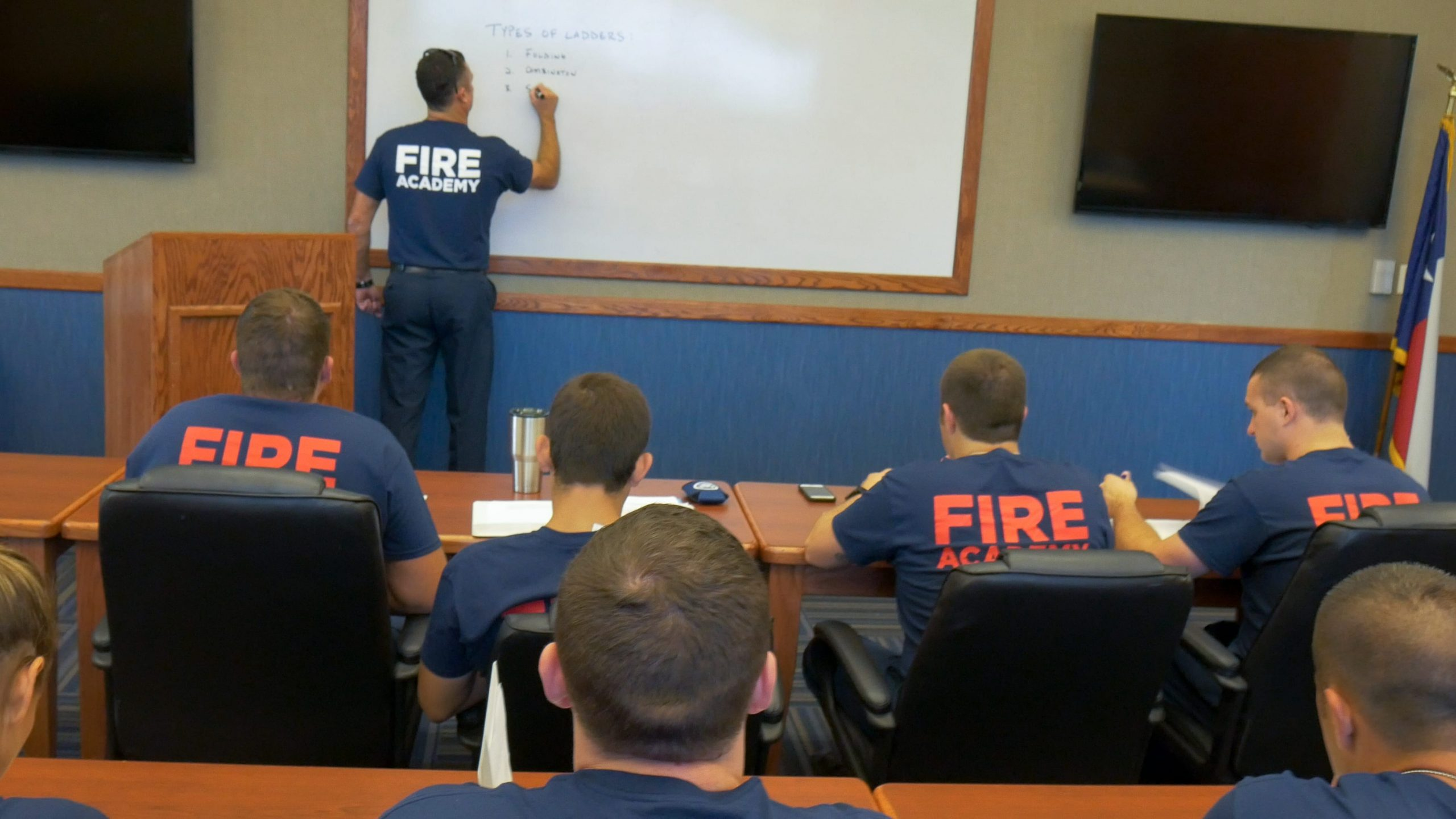 Fire Training lesson